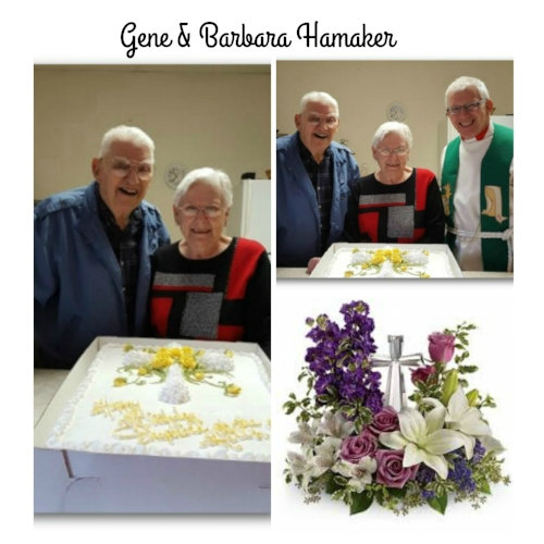 The Hamakers recently celebrated their 32nd anniversary  of being charter members, still attending the church. Gene helped build Shepherd of the Hills Lutheran Church.
