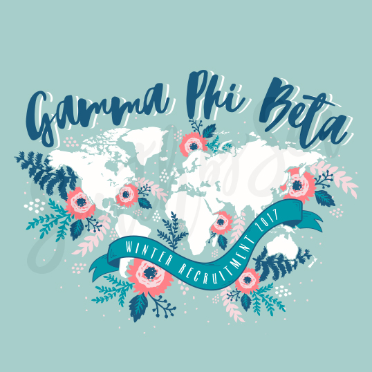 107985 Gamma Phi Beta Winter Recruitment Floral Flower World Map.jpg