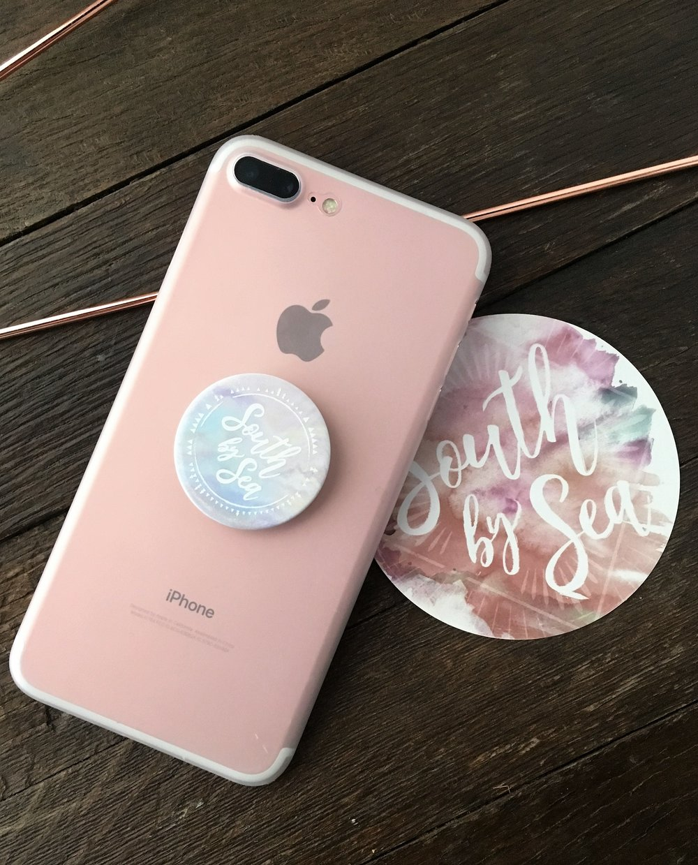 For the selfie queen... - There's bound to be someone who came to mind when we mentioned selfie! Help the selfie queen in your life step-up their Snapchat or Insta game with this perfect popsocket. Bonus, it doubles as a kickstand for the serial
