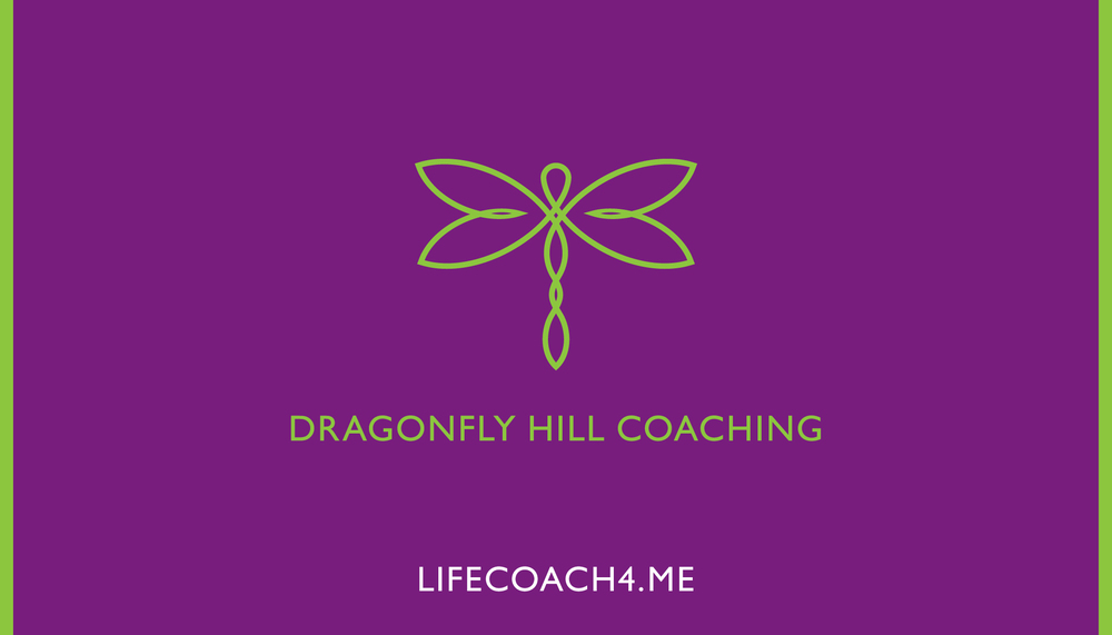 Dragonfly Hill Coaching Logo/Business Card