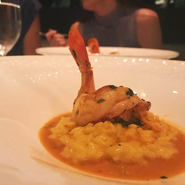 Uncle Dan always knows the best spots in the city @pelagoristorante . . . . #chicago #chicagofoodie #pelago #rivernorth #italian #risito #shrimp #NOMaste