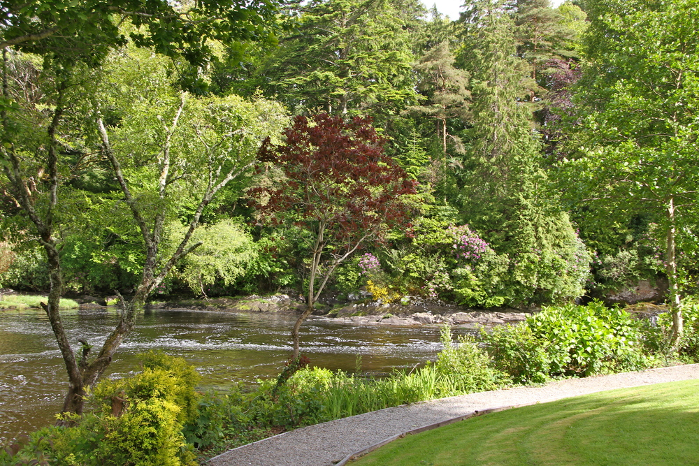 Sheen Falls Lodge, Kenmare, Co. Kerry, Ireland.
