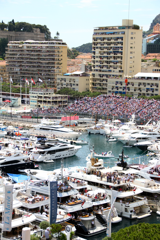 Yacht party, Monaco.
