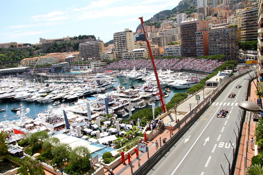 The F1 race.