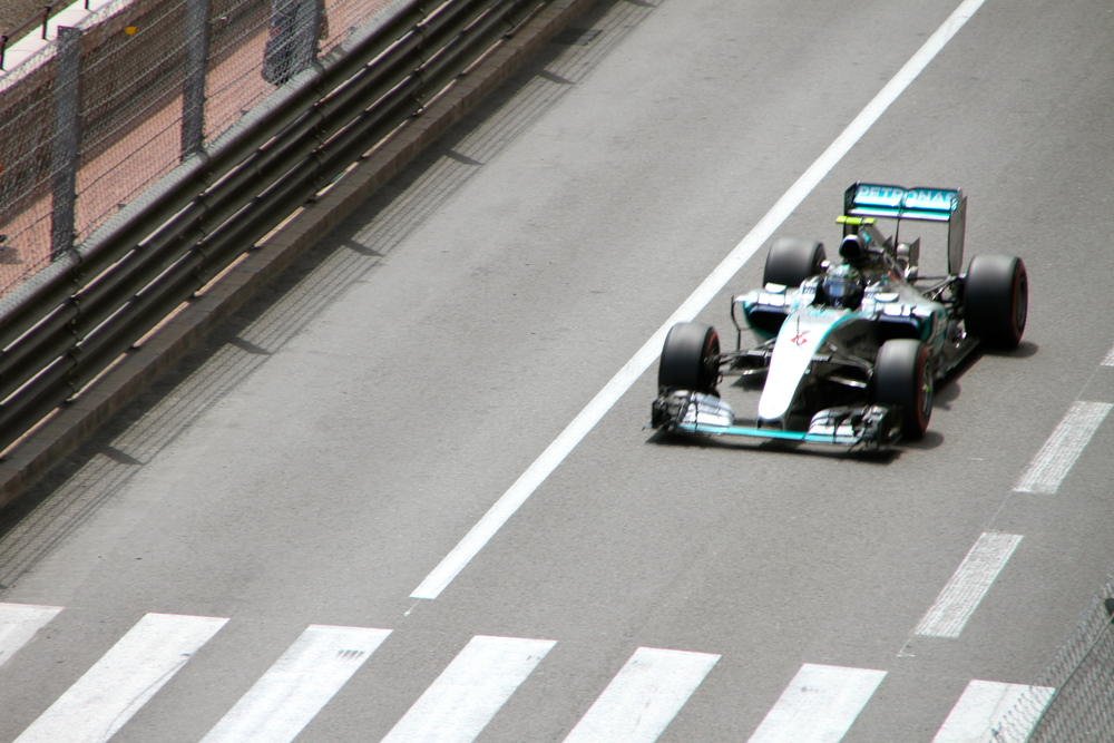 Nico Rosberg, Team Mercedes.