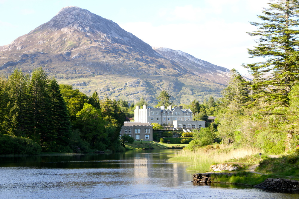Ballynahinch Castle, Connemara, Co. Galway, Ireland.