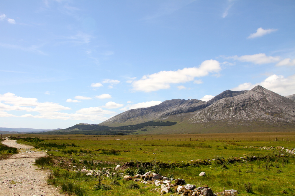 Connemara Hike, Co. Galway, Ireland.