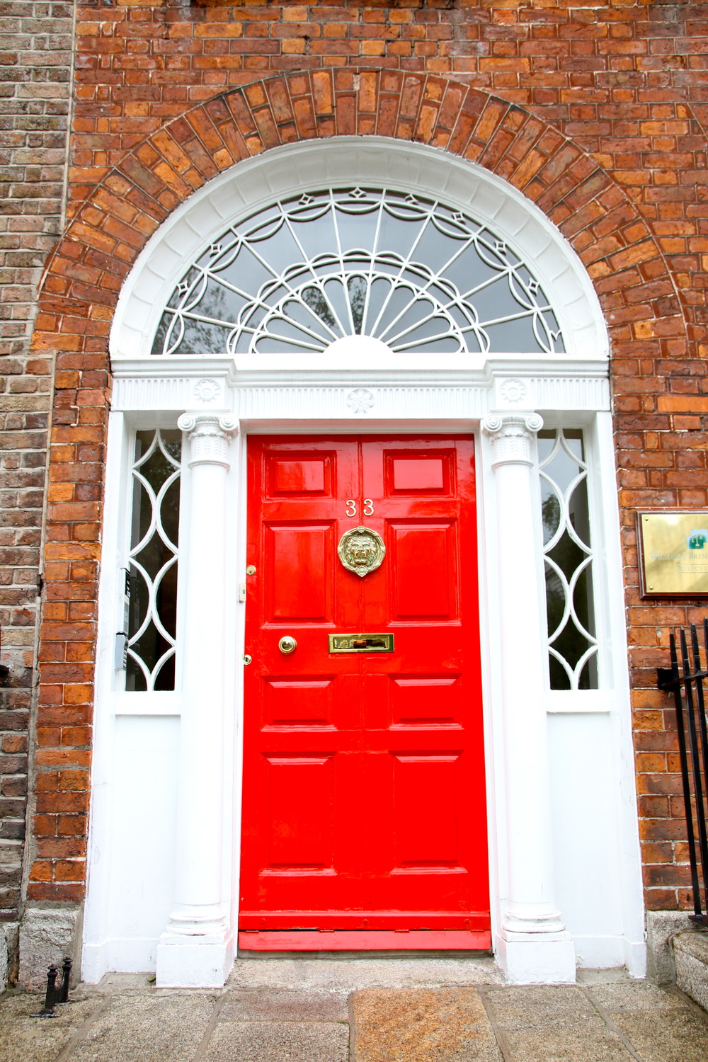 Georgian Door, Dublin, Ireland.