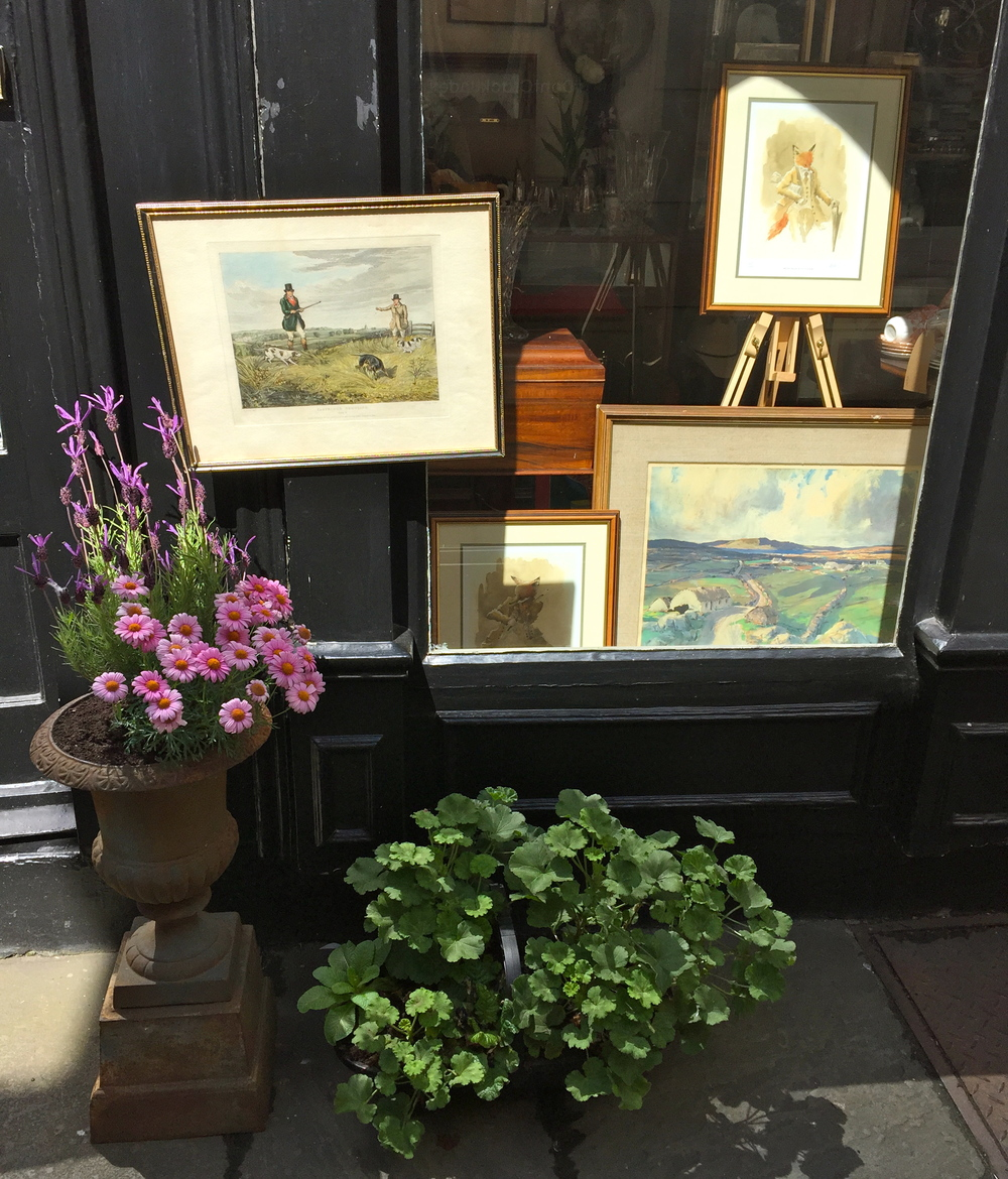 Antiquing, Dublin, Ireland.