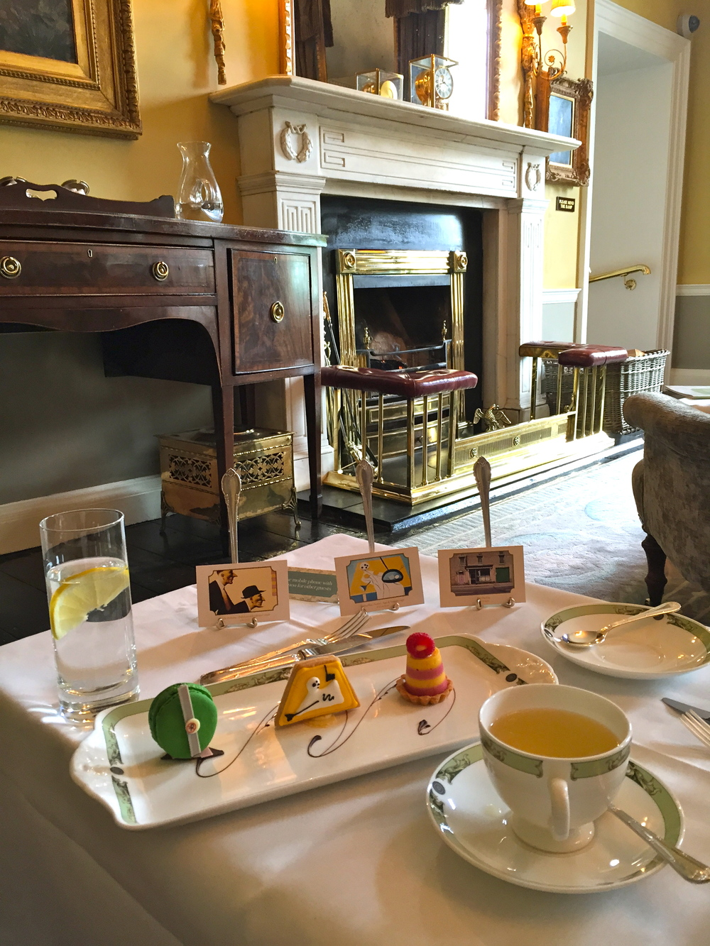"""Art Tea"", The Merrion Hotel, Dublin, Ireland."