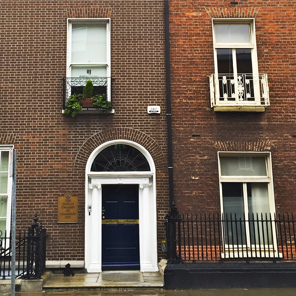 Georgian Architecture, Dublin, Ireland.