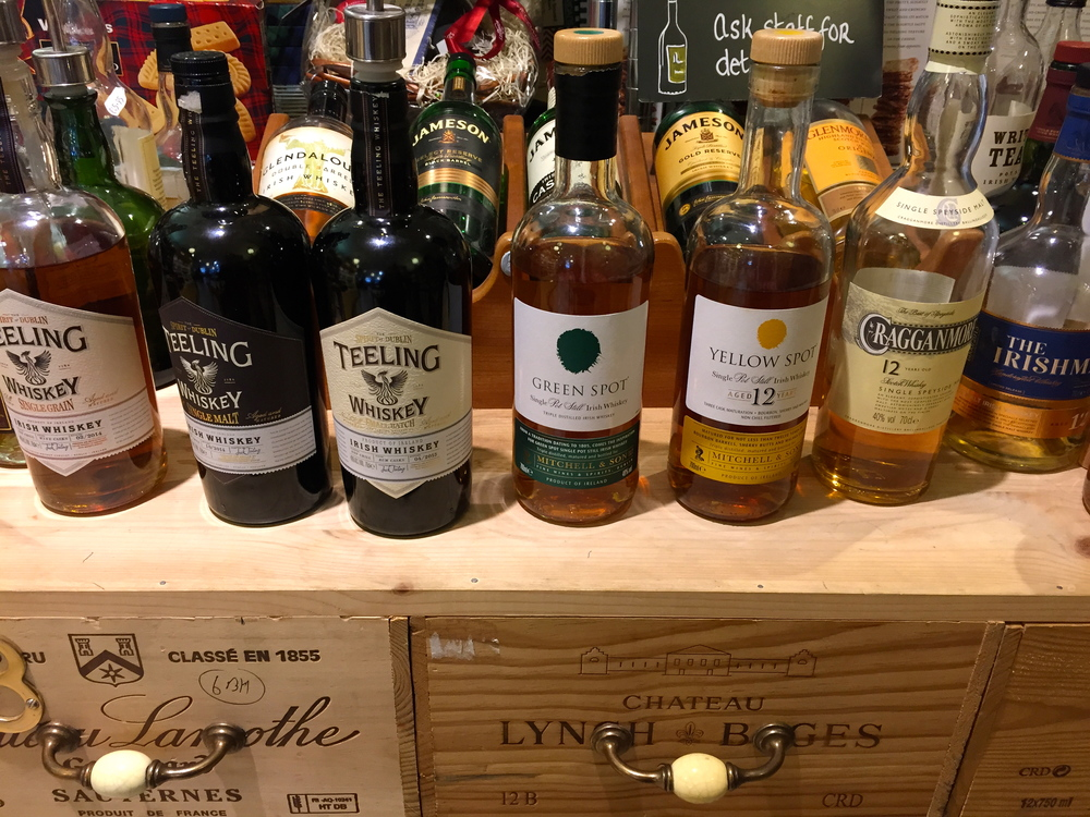 Irish Whiskey Tasting at McCambridge's, Galway City, Co. Galway, Ireland.