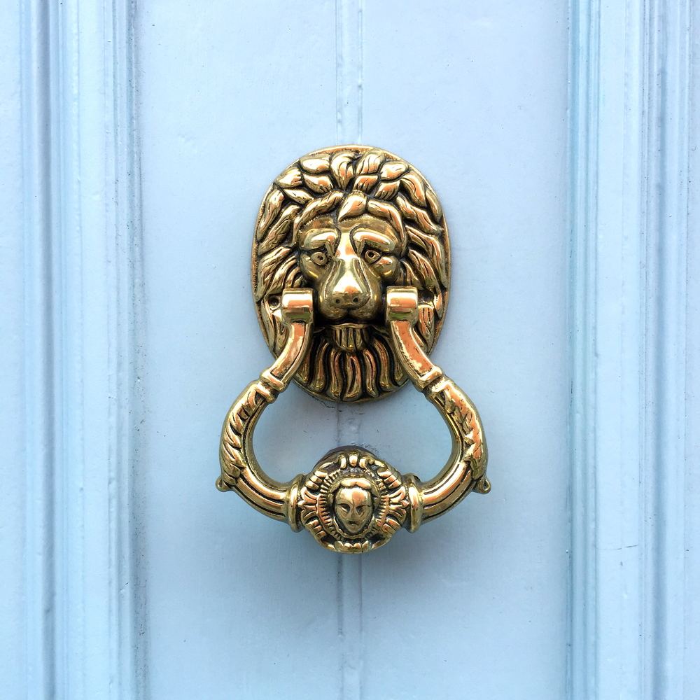 Door Knocker, Dingle, Co. Kerry, Ireland.