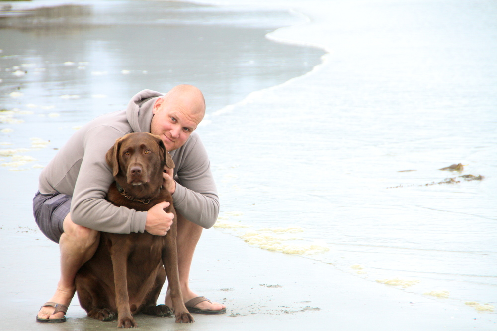 Love these two! Chesterman Beach, Tofino, BC, Canada.