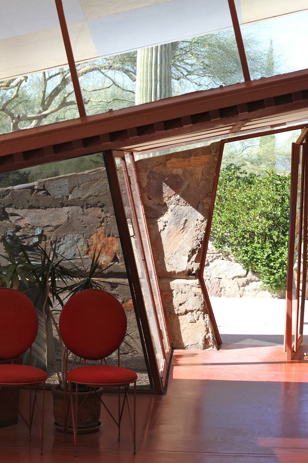 Taliesin West, Frank Lloyd Wright, Scottsdale, AZ.