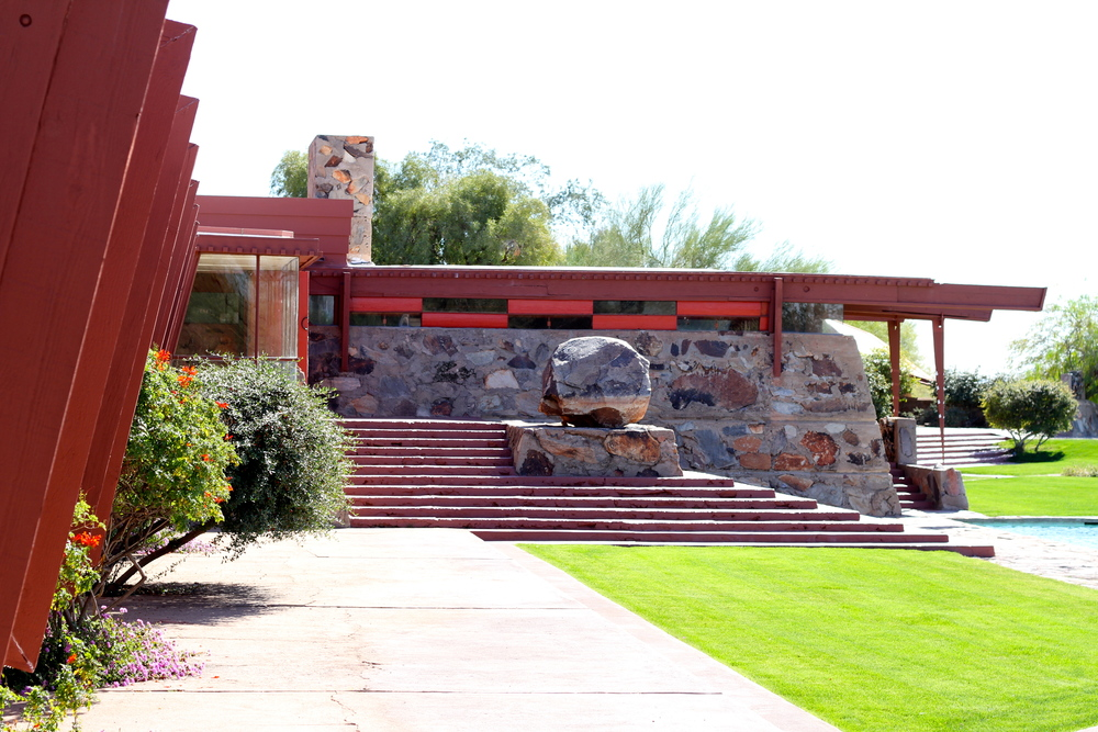 Taliesin West, Frank Lloyd Wright, Scottsdale, AZ