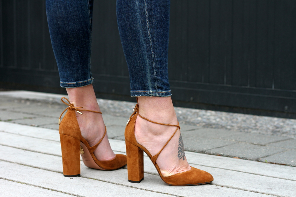Aquazzura Pumps.