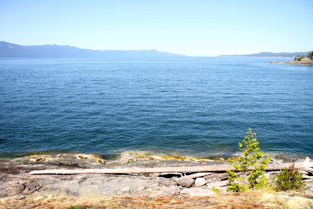 Francis Point Provincial Park, Sunshine Coast, BC, Canada.