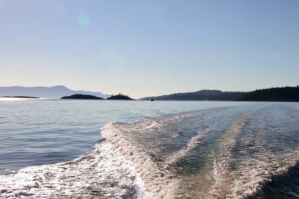 Pender Harbour, Sunshine Coast, BC, Canada.