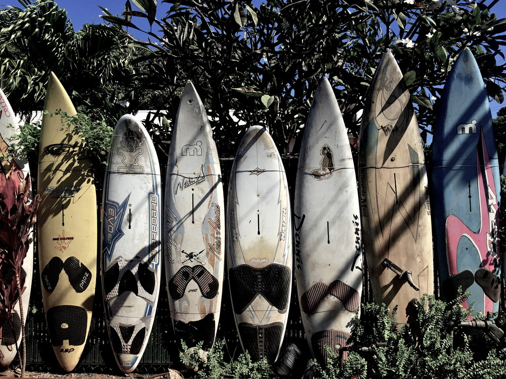 Surfboards, Paia, Maui, Hawaii