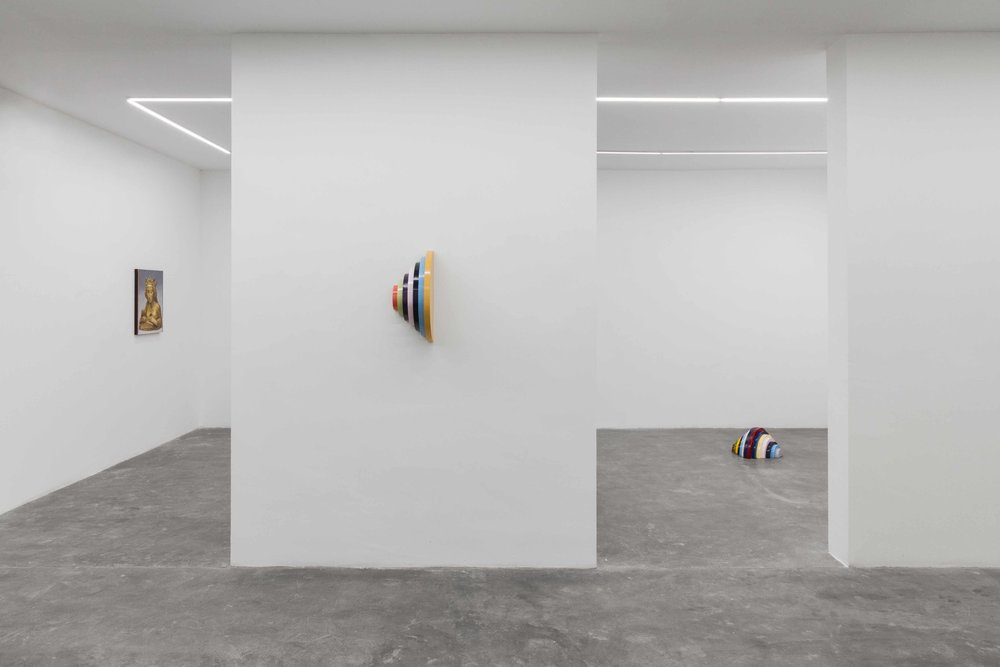 Installation view from  Alexis Zambrano: The Shape of Time , 2018.