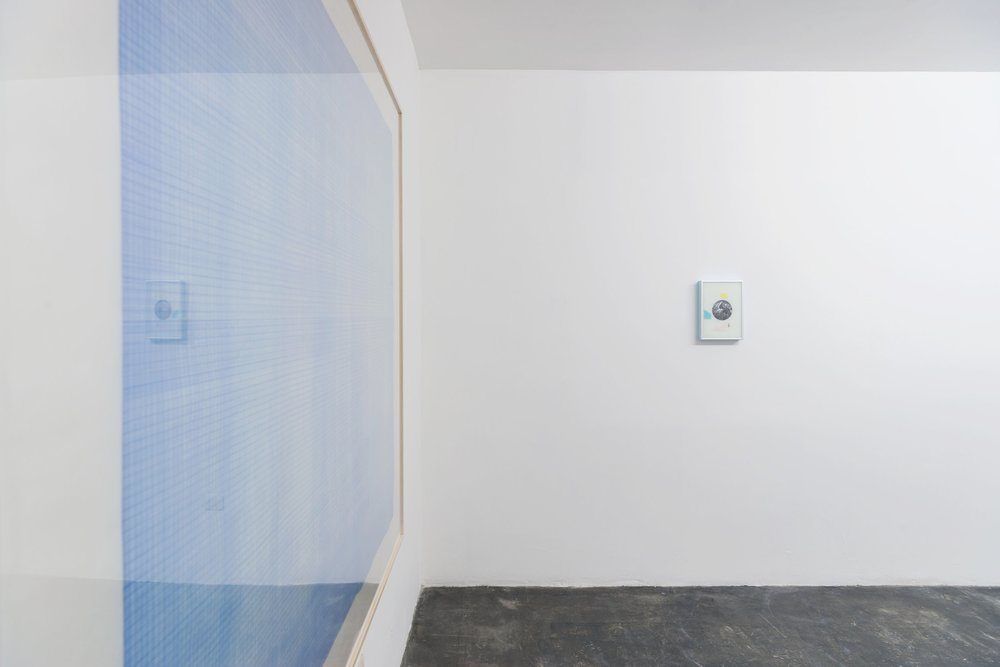 Installation view from  Solid Void , 2018.