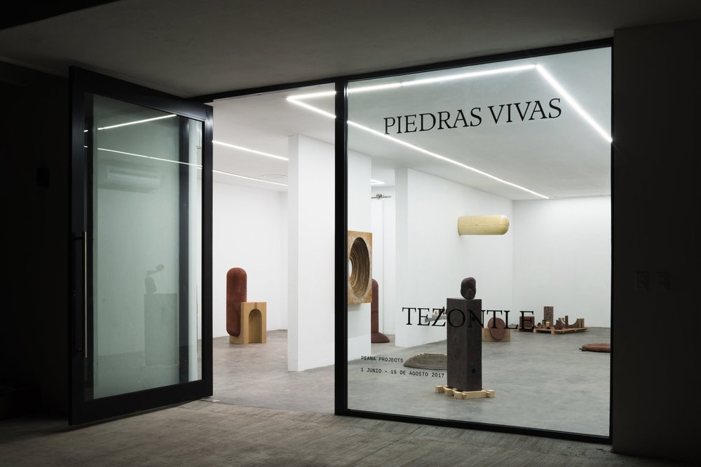 Installation view from  Piedras Vivas , 2017.