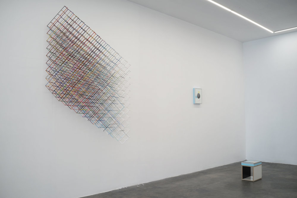 Installation view from  Marathon,  2017.