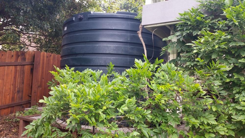 2825 Gallon Rain Tank