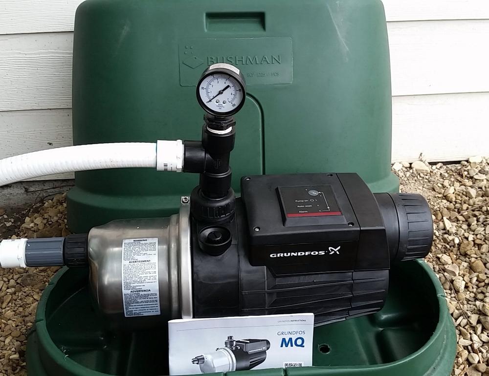 1HP Grundfos Pump
