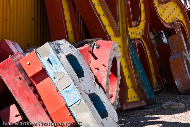 Las Vegas Neon Sign Boneyard Image #2