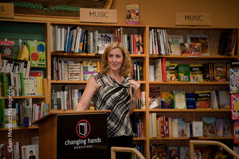 Pam Slim Book Siginin at Changing Hands Bookstore