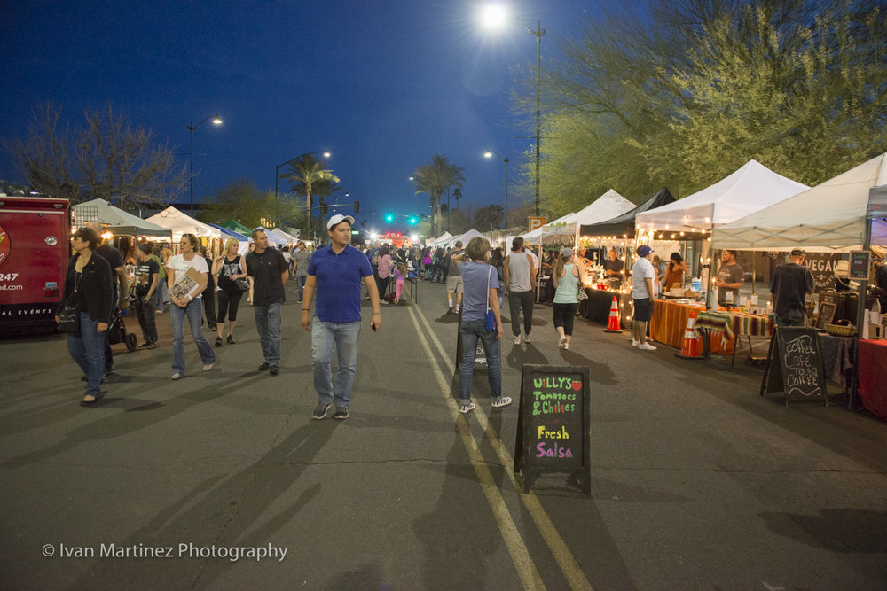 Zen Nights Downtown Mesa. Photo by Ivan Martinez Photography.