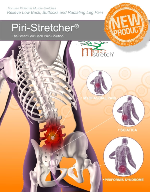 Amazing New HOME Therapy Tool Tackles Sciatica Head On!