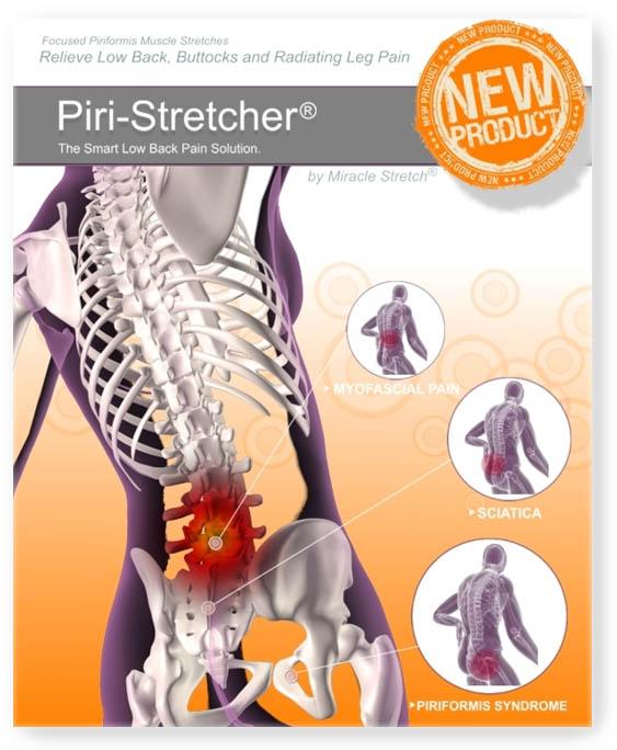 Sciatica and Piriformis Relief - Piri-Stretcher® for Home Use