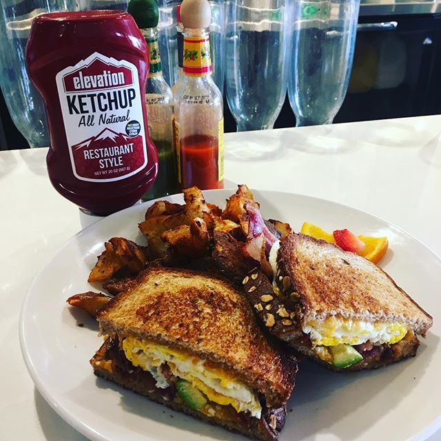 Elevate your breakfast with #allnatural @elevationketchup #shoplocal #eatlocal