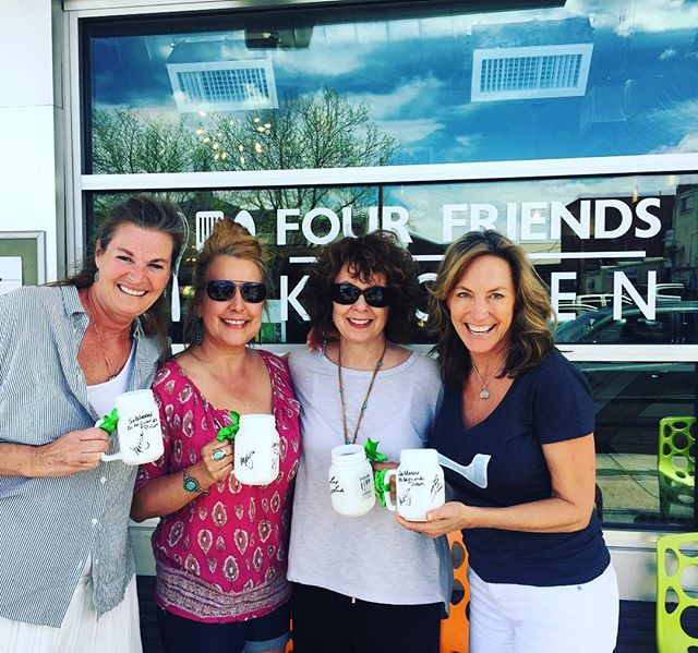 Four Friends having brunch at Four Friends! These lovely women have been brunching together for 40 years, thank you @leslieallegria for dining with us! Enjoy the mugs! #denverbrunch #fourfriendskitchen #fourfriends #ladiesewhobrunch #friendshipgoals #foodie #brunching #brunchsohard