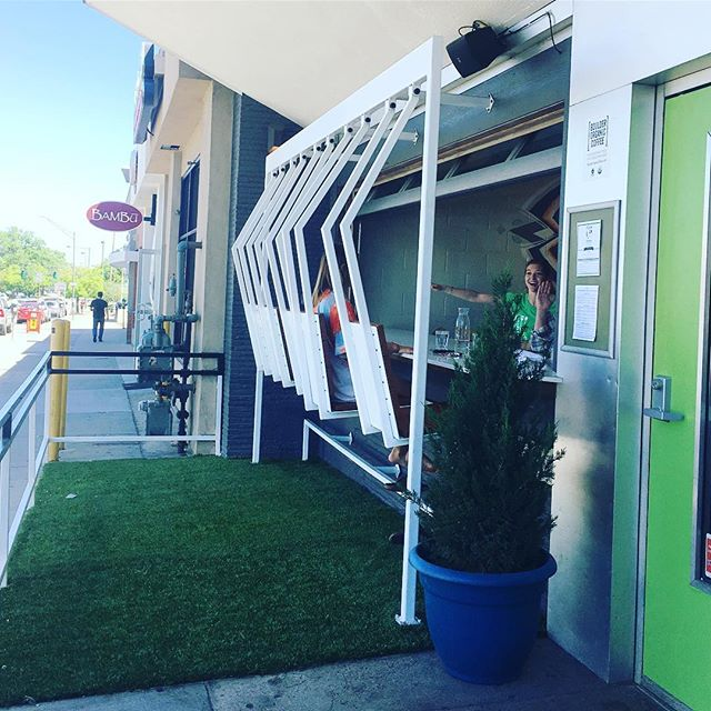 Where the grass is greener #patioseason