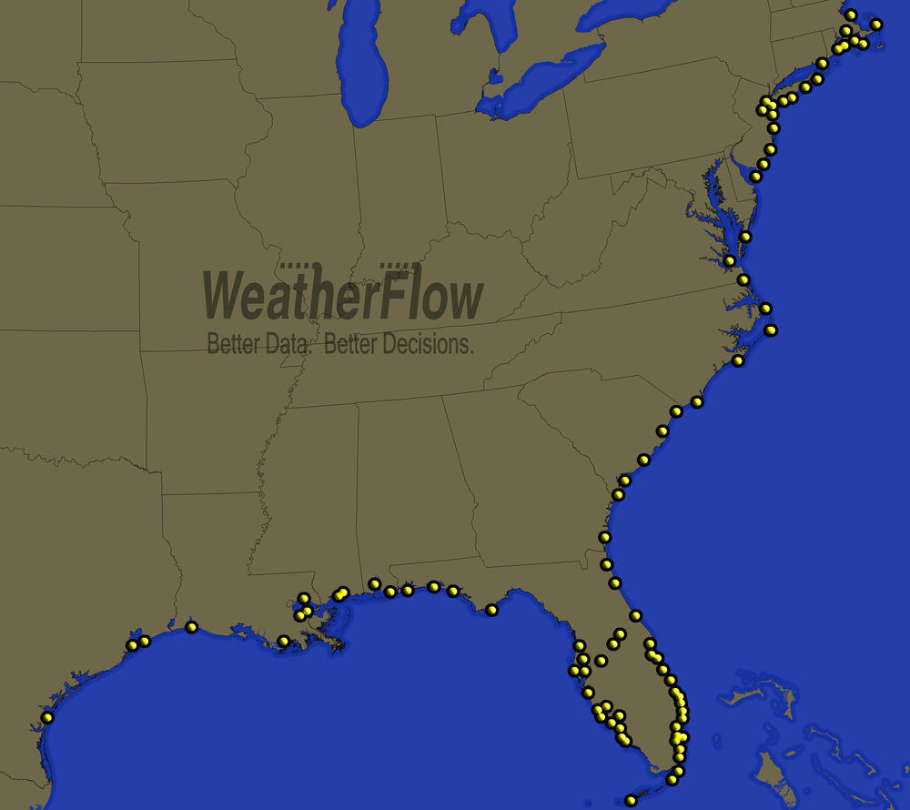 Weatherflow Hurricane Network for PM Insurance