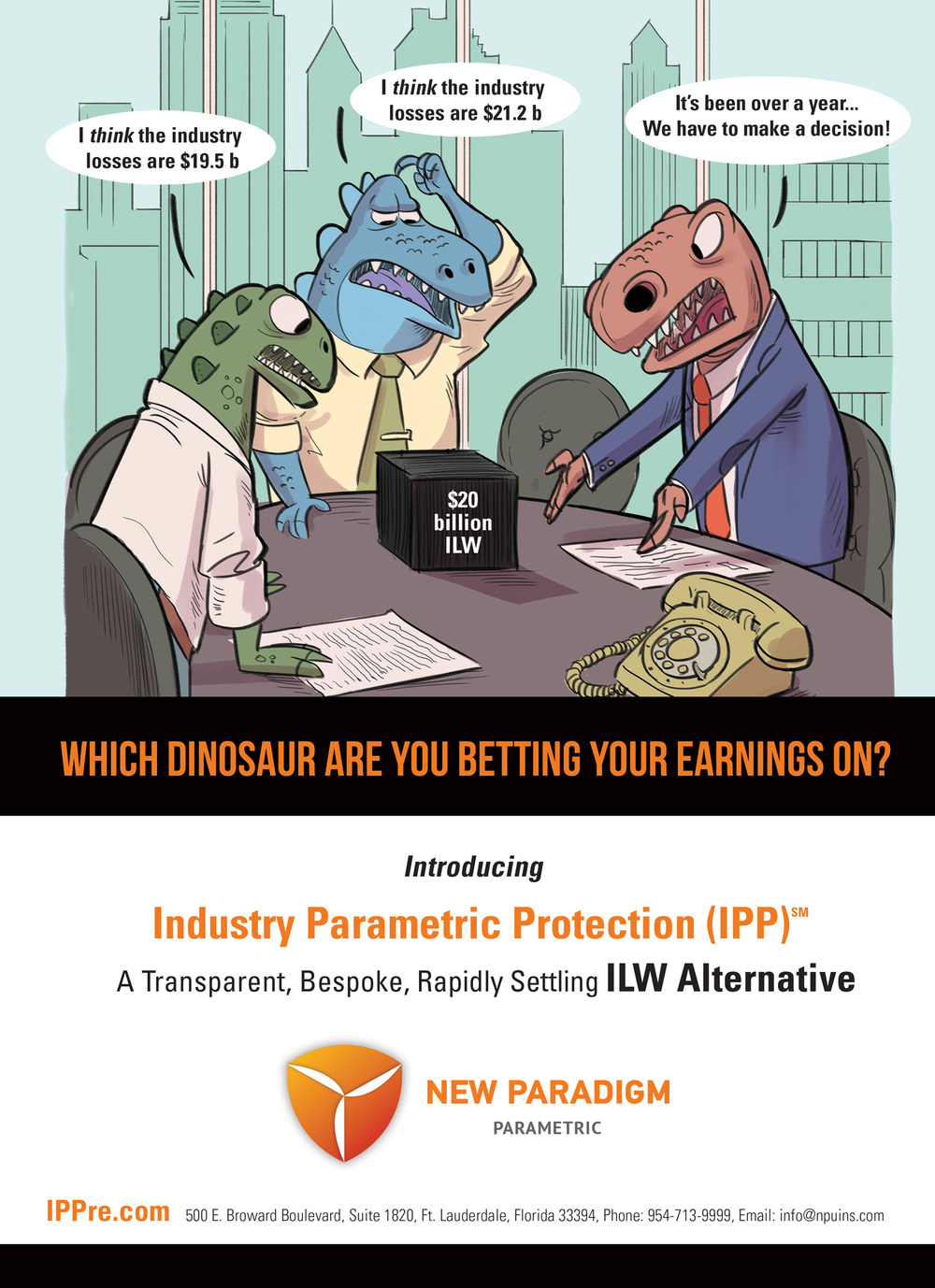 New Paradigm Parametric Insurance