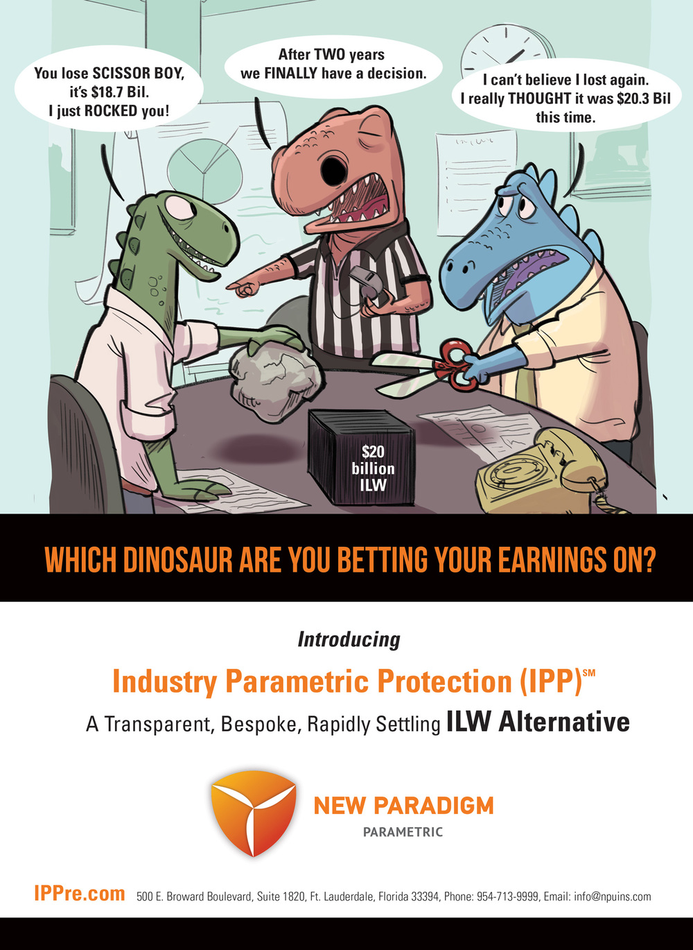Understanding New Paradigm Parametric Underwriters