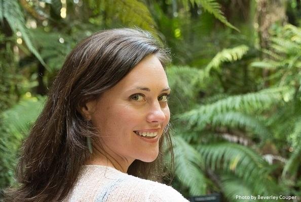 Sarah at Winter Gardens