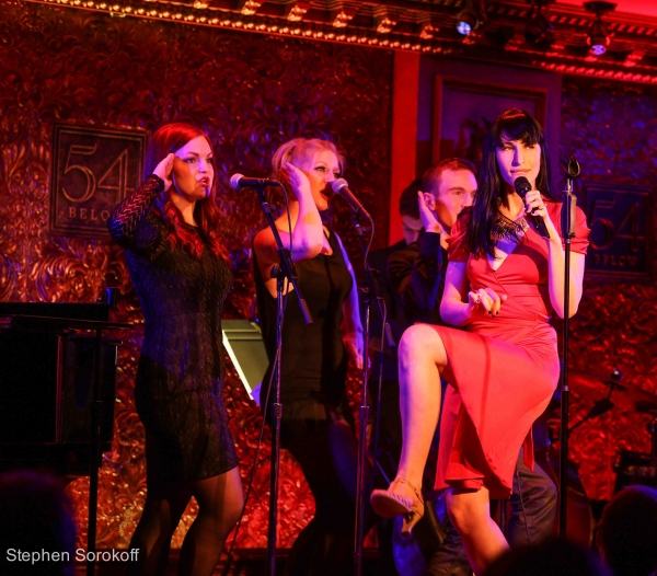 The Act  at 54 Below photo: Stephen Sorkoroff