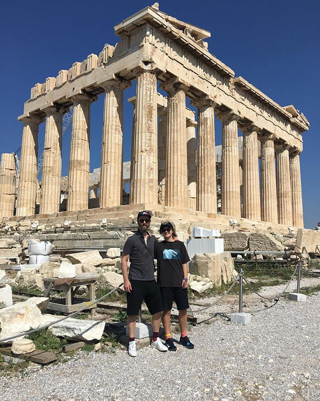 Some thinkers at the birthplace of modern thinking #Athens