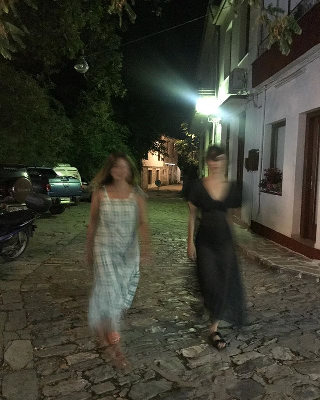 It was all a blur.... holidaying in my new favorite dress by @hiraeth.collective