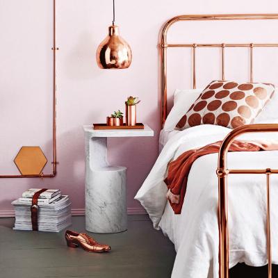 Shiny Copper Frame