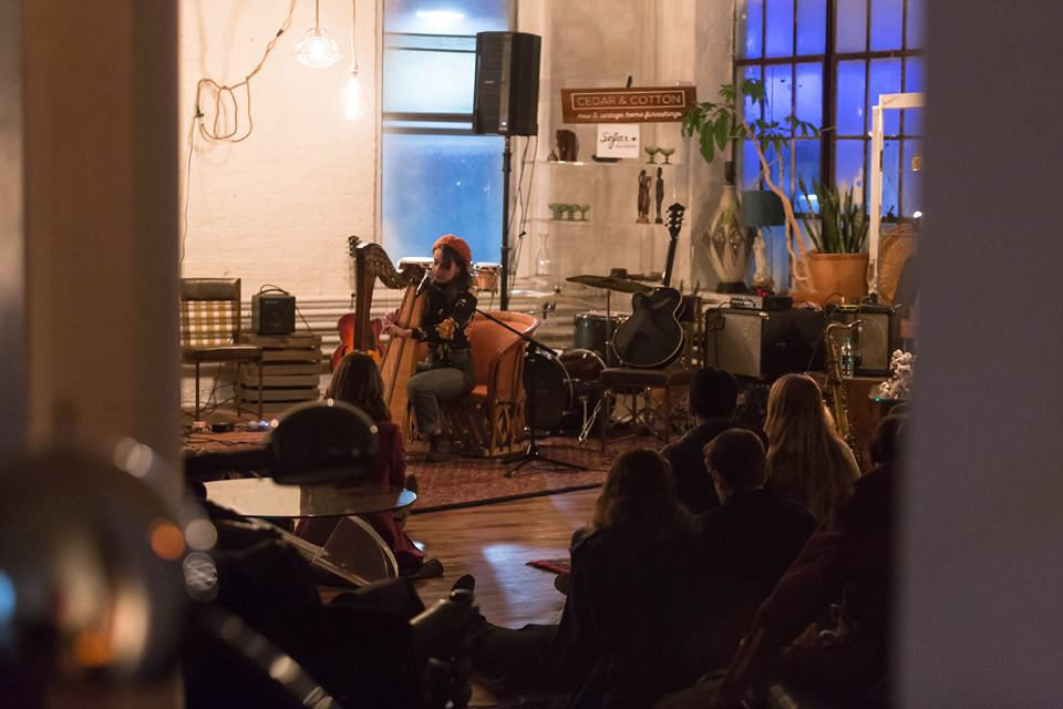 Sofar Sounds Baltimore. Photo - Jay Mastermind