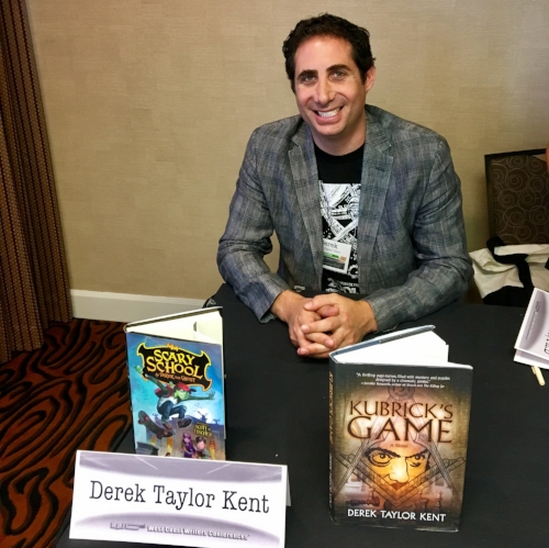 Find me at one of my frequent book signings by going to Events. - Book a show and/or appearance by writing to Derek@DerekTaylorKent.com
