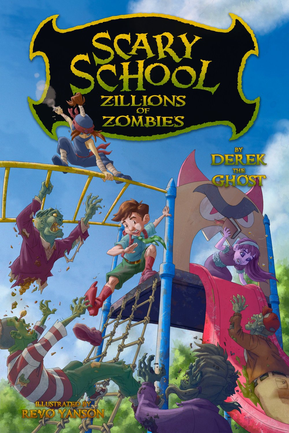 Scary School #4:Zillions of Zombies - Purchase on AmazonPurchase at Barnes and Noble