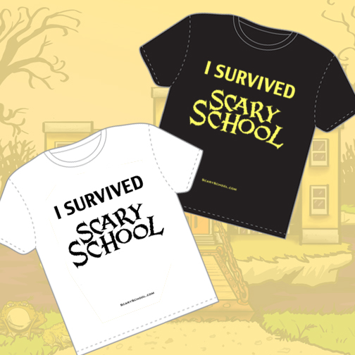 AWESOME SCARY SCHOOL MERCHANDISE!